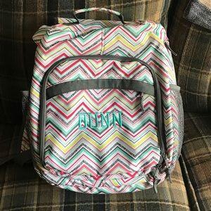 Thirty-One One Shoulder Chevron Bookbag